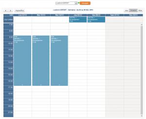 Planning Activité